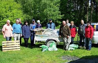 Aktion sauberer Wald