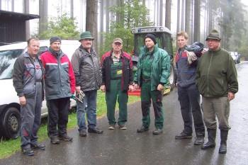 Aktion sauberer Wald 2011